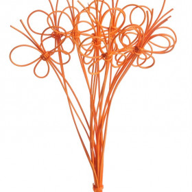 RCRDCL-SBF-L Motylek 35cm 10pcs bright orange